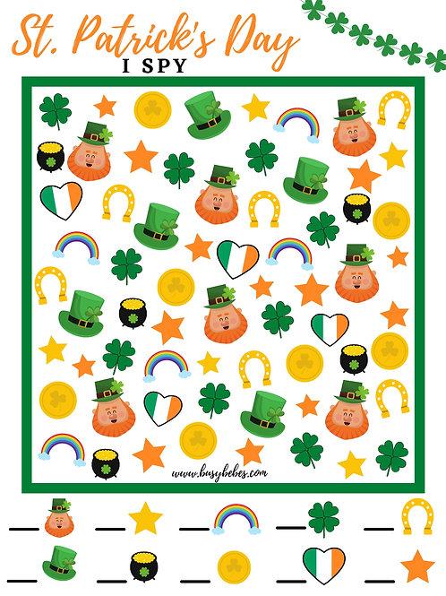 Digital Download: St. Patrick's Day I Spy