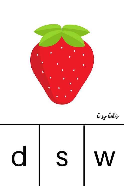 Digital Download: From Seed to Flower Initial Letter Cards