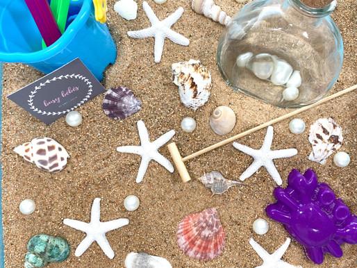 Life's a Beach Summer Sensory Bin