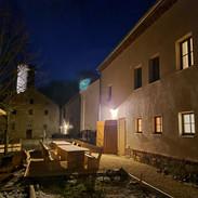 Sauna Terrasse Burgturm Gnandstein