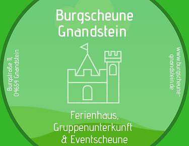 Ferienhaus Gruppenunterkunft Seminare Scheunenhochzeit Burgscheune Gnandstein