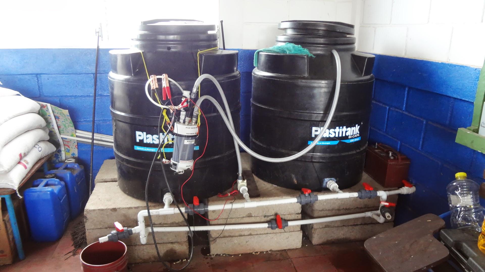 New manifold for circulating water