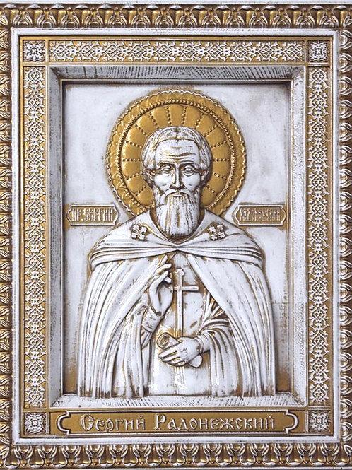 CR-075_01_Икона Святой преподобный Сергий Радонежский