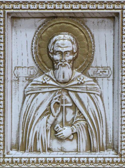 CR-075_Икона Святой преподобный Сергий Радонежский