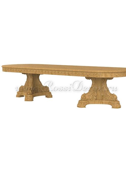 Мебель резная_Стол M_007