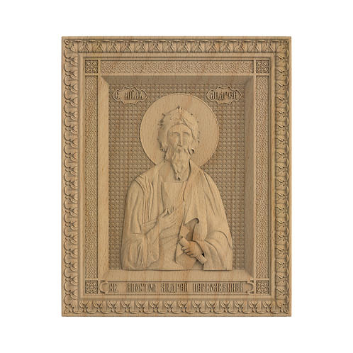 CR-098_01_Икона Святой апостол Андрей Первозванный