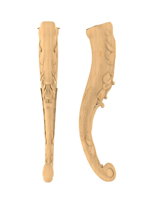 Ножка резная MN-098