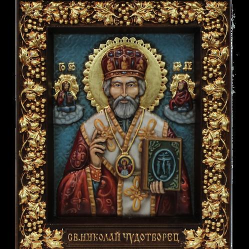 CR-058_03_Икона Святой Николай Угодник Чудотворец