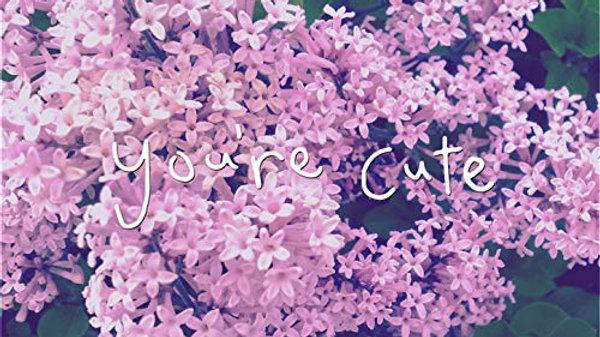 """You're Cute"" Transcription - Tennyson Keys Solo"