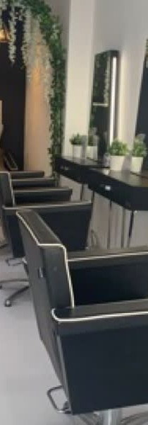Chairs and mirrors at Capelli Salons By Lauren