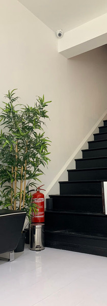 Stairs at Capelli Salons By Lauren