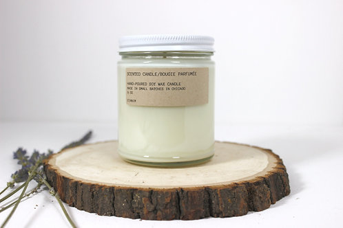 Custom Scented Hand Poured Soy Wax Candle 9 oz