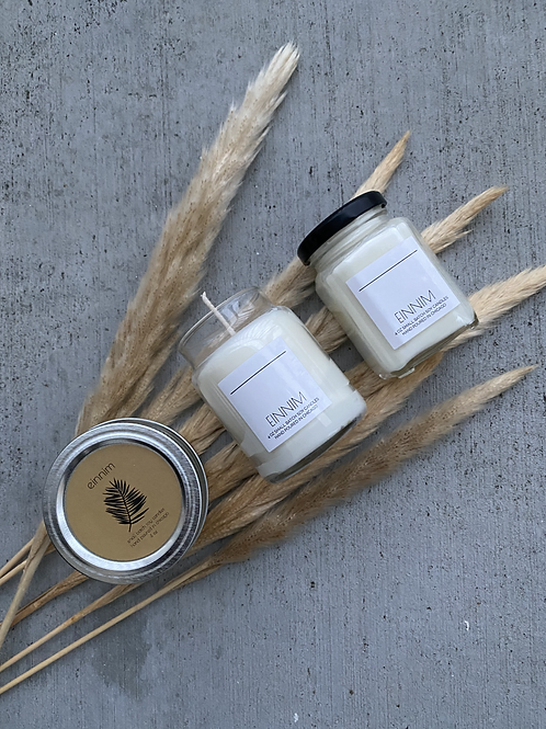 Custom Scented Hand Poured Soy Wax Candle 4 oz