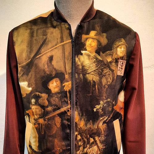 """Rembrandt jas met digital print """"Oude Meesters"""""""