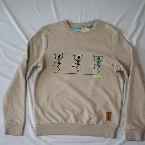 Sweatshirt effen kleur