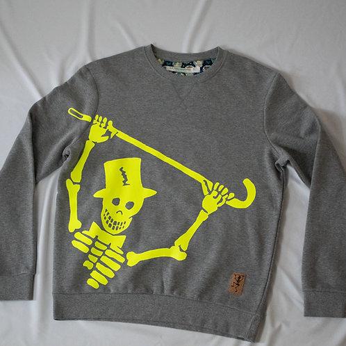 Sweatshirt met grote print