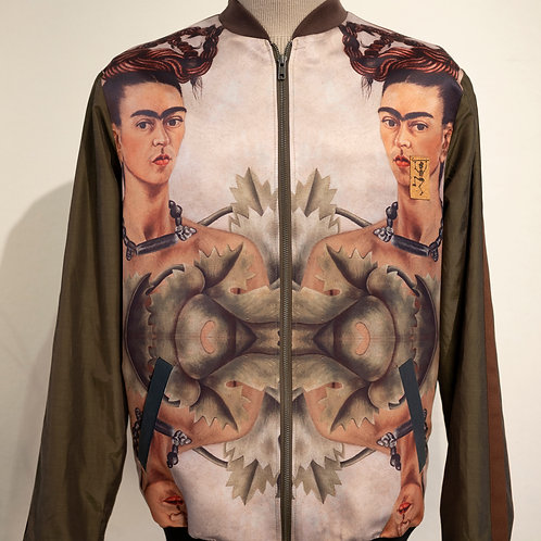 Jas Frida  #3  Zelfportret met vlechten