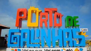 Na semana mundial do turismo, Porto de Galinhas ganha novos letreiros