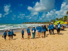 Ecoassociados | Ação de limpeza de praia