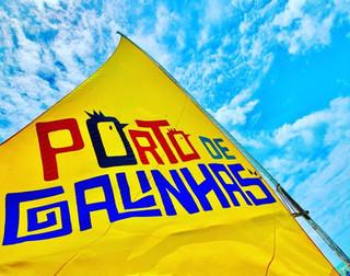 Jangada em Porto de Galinhas