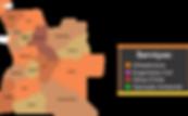 Mapa de Obras na Angola - Engevia Construção Civil e Obras Públicas LDA