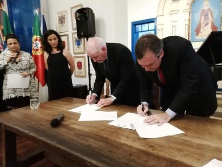 Assinatura do acordo de Cidades Coirmãs - Cabo Frio x Ílhavo