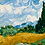 Thumbnail: Van Gogh's Wheatfield with Cypress- 3.5/5 Complexity