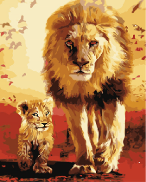 Lion and Cub - 3.5/5 Complexity