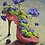 Thumbnail: Stiletto with Flowers Abstract - 3/5 Complexity