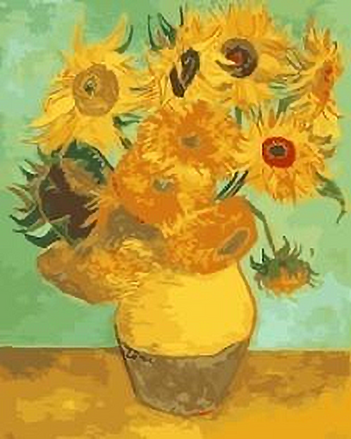 Van Gogh's Sunflowers - 3.5/5 Complexity