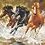 Thumbnail: Three Horses Galloping in Water - 4/5 Complexity