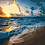 Thumbnail: Sunrise Waves on a Beach - 3/5 Complexity
