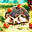 Thumbnail: Cute Hedgehog with Apples - 5/5 Complexity