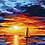 Thumbnail: Boats with Sunset - 3.5/5 Complexity
