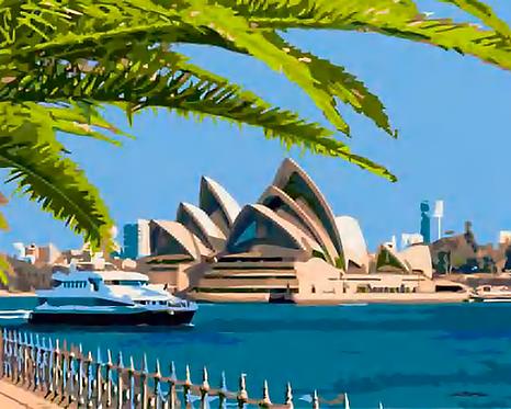 Australia's Sydney Opera House - 3/5 Complexity