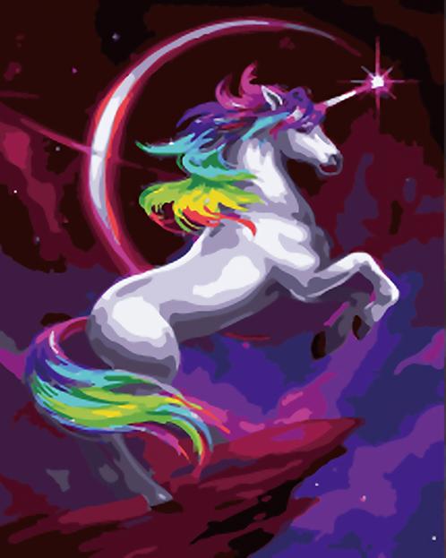 Fantasy Rainbow Unicorn - 1.5/5 Complexity