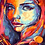 Thumbnail: Abstract Colourful Girl - 3/5 Complexity