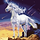 Thumbnail: Unicorn on Cliff with Shooting Stars - 3/5 Complexity