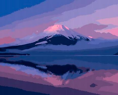 Mountain Landscape - 1.5/5 Complexity