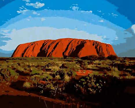 Australia's Uluru - 2.5/5 Complexity