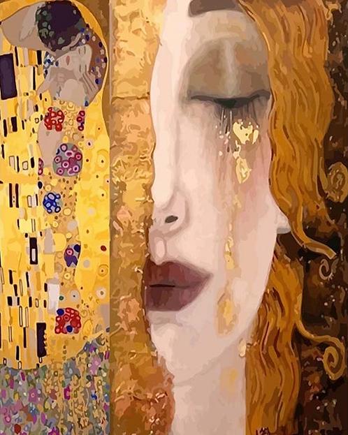 Gustav Klimt Golden Tear - 4/5 Complexity