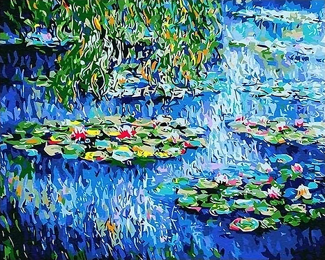 Claude Monet – Water Lilies - 4.5/5 Complexity