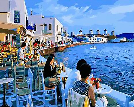 Mykonos in Greece  - 4/5 Complexity