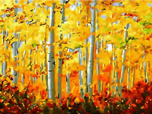 Forest of Autumn Trees - 4.5/5 Complexity