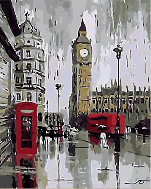 Big Ben, London, England - 3/5 Complexity