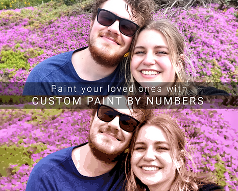 Custom Painting by Numbers