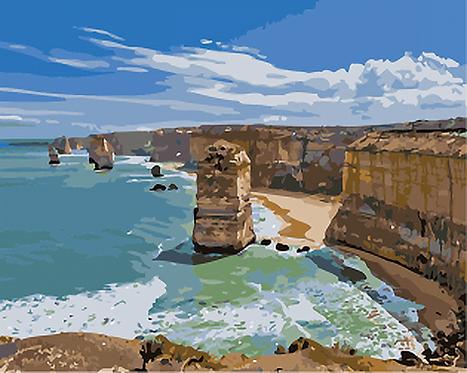 Australia's Twelve Apostles - 3/5 Complexity