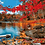 Thumbnail: Lake and Autumn Trees Landscape - 4.5/5 Complexity