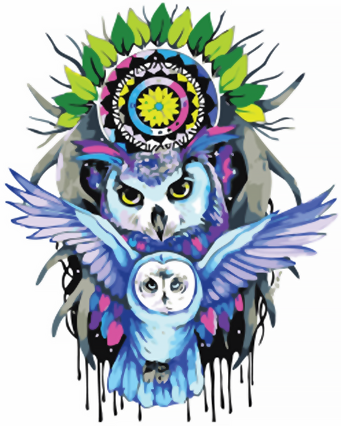 Owl Dream Catcher - 3/5 Complexity