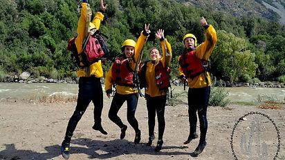 Rafting Santiago Chile